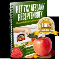 Het 7×7 Afslank Receptenboek ervaringen (Jasper Alblas)