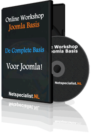 Online Workshop Joomla Basis ervaringen (Mindert Aardema)